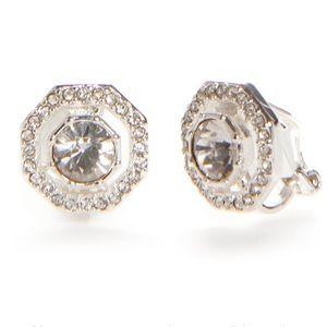 Lauren Ralph Ear Candy Clip Earring Silver